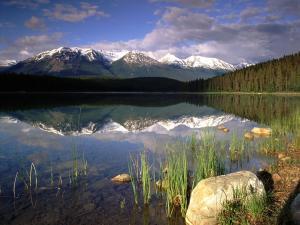 Patricia Lake, Jasper National Park (Alberta, Canada)