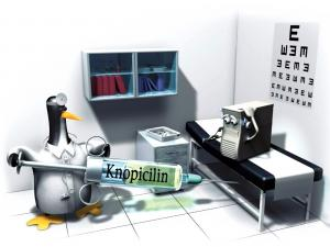 Knopicilin, penicillin Linux Knoppix for your PC