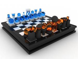 Ultra-modern chessboard