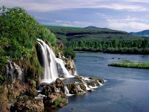 Fall Creek Falls and Snake River (Idaho)