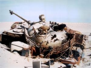 Tank crushing scrap