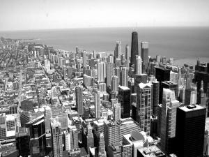 Views of Chicago from the Sears Tower