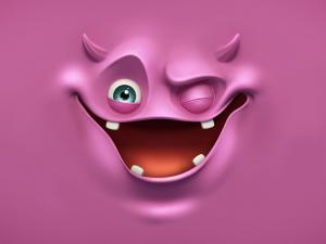 Demon of chewing gum