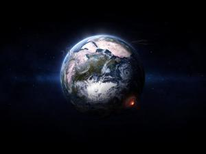 Great natural disasters on Earth