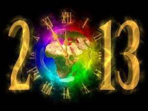 2013 New Year celebrated around the world