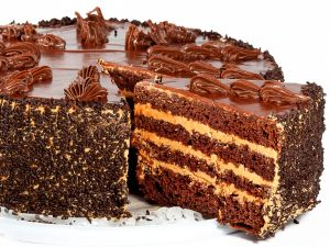 Spectacular chocolate cake