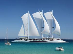 Phoenician Sailing Yacht, design by Igor Lobanov