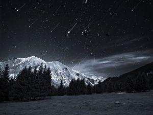 Nocturnal starfall