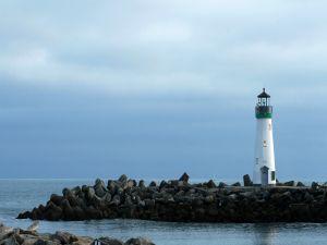 Walton Lighthouse, Santa Cruz Harbor, California