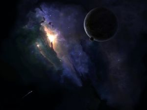Galaxies, planets and spacecraft
