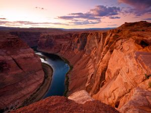 Spectacular views of the Colorado River and the Grand Canyon