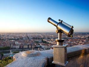 Views of Lyon, France