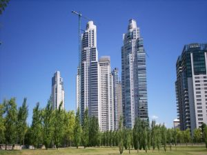 Skyscrapers in Puerto Madero (Buenos Aires, Argentina)