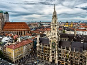 The New Town Hall, Munich (Germany)