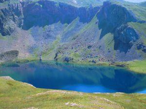 Ibon (or lake) of Sabocos, Pyrenees of Huesca, Panticosa (Spain)