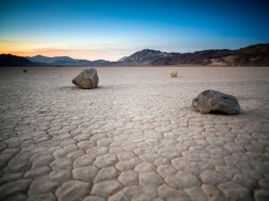 Solitary stones (Inyo County, California)