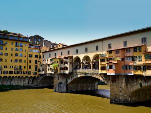 Covered bridge in Florence (Italy)