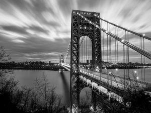 The George Washington Bridge from the New Jersey side