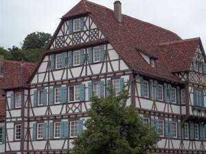 A typical house in Stuttgart, Germany