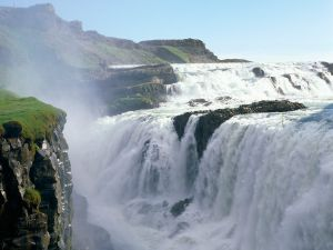Gullfoss (Golden Falls), in Iceland