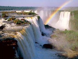 Rainbow in the Devil's Throat, Iguazu Falls