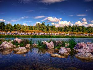 Gheraiesti Park, Bacau city, Romania