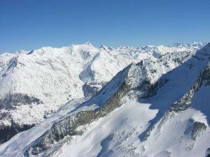 Ski resort Les Arcs (Savoie, France)