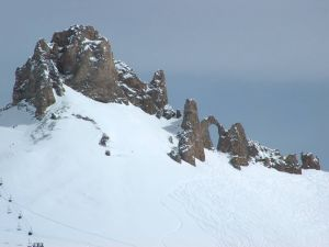 The Needle Punched (Tignes, France)