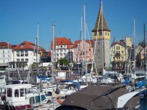 Port of Lindau (Bavaria, Germany)