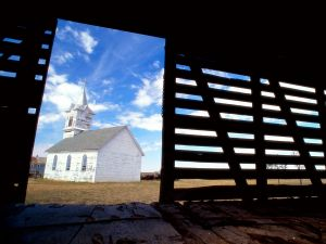 Church of a town in South Dakota, United States
