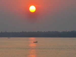 Tonlé Sap Lake, in Cambodia