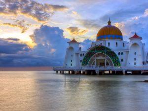 Malacca Straits Mosque (Malaysia)