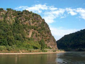 The Lorelei rock, Rhine valley (Germany)