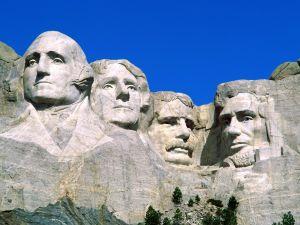 The Mount Rushmore National Memorial (South Dakota, United States)