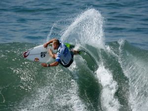The pro surfer Mick Fanning
