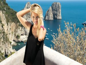 The argentine actress Luisana Lopilato
