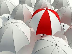 A different umbrella