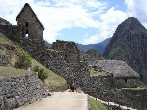 Inca ruins of Machu Picchu, in Peru