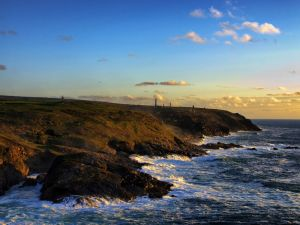 Levant Mine, watched from Pendeen, England