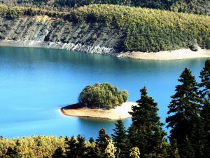 Plastiras Dam, Greece