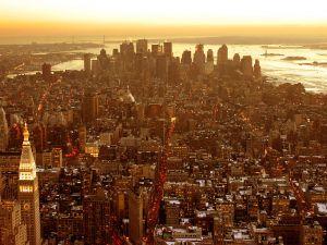 City Center of Manhattan, New York