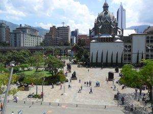 Plaza de San Antonio (Medellin, Colombia)