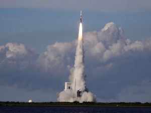 Launch of the Delta IV rocket (NASA)
