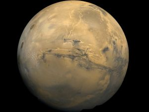 A clear picture of planet Mars