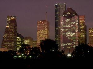 Dusk in Houston (USA)