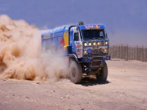 Kamaz Truck in the Dakar Rally