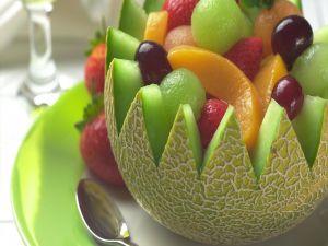 Melon fruits filling