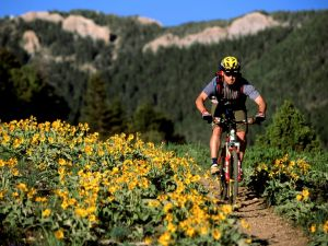 Mountain bike in Bozeman, Montana (USA)