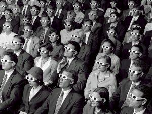 The beginnings of cinema in 3D