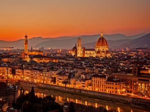 Cathedral of Santa Maria del Fiore, in Florence, Italy